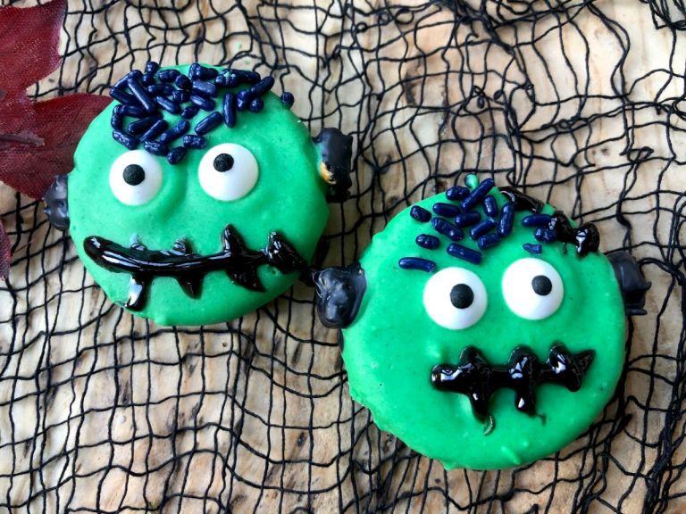 Frankenstein Halloween Oreos