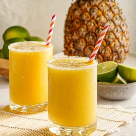 Pineapple and Mango Margarita Mocktail