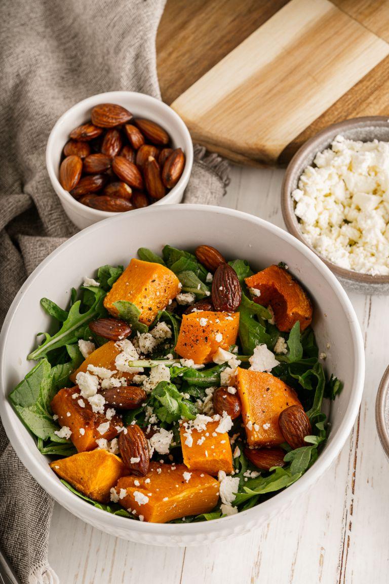 Bowl of Butternut Squash Salad