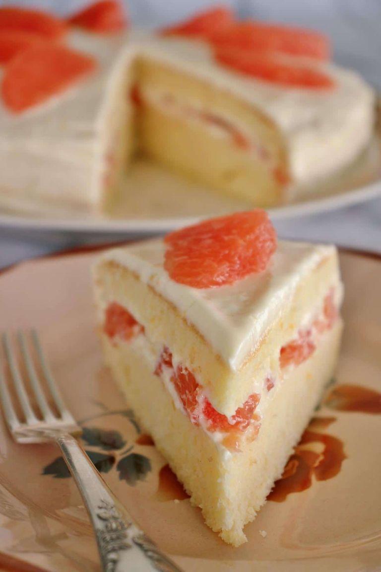 Hollywood Brown Derby Grapefruit Cake