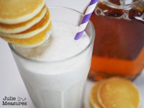 maple syrup pancake milkshake