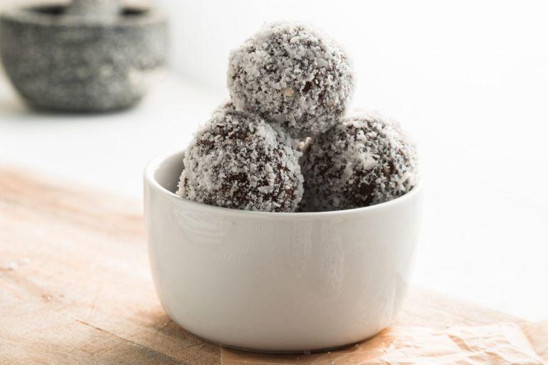 Bowl of Best Chocolate truffles