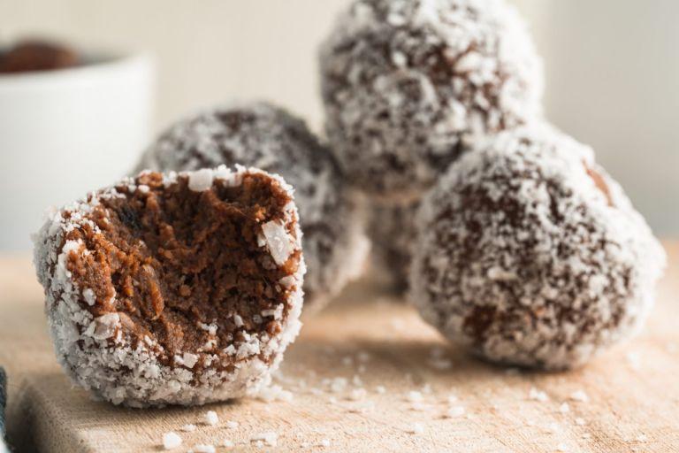 bite of best chocolate truffles